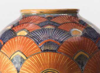 Vase de Galiléo Chini acquis par le musée d'Orsay