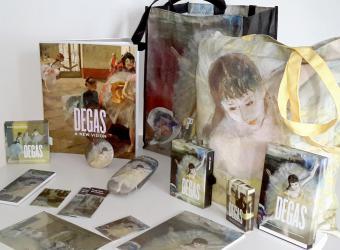 Ensemble de produits dérivés des Danseuses de Degas