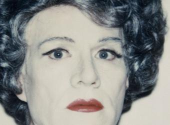 Self Portrait in Drag, Andy Warhol