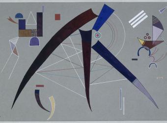 Sans titre, 1941, Vassily Kandinsky, Paris, Centre Pompidou - Musée national d'art moderne - Centre de création industrielle