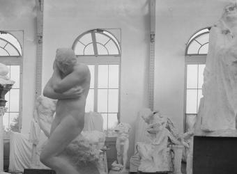 Vue de l'atelier du Pavillon de l'Alma,François Vizzavona, agence photo RMN-Grand Palais, fonds Druet-Vizzavona
