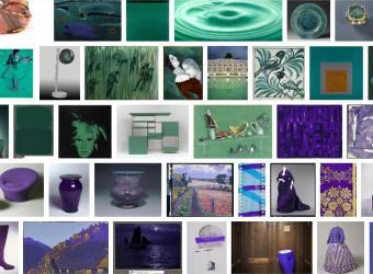 Pantone 2018: museums in ultraviolet