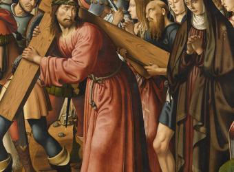 Le Portement de Croix, Biagio d'Antonio Tucci - Musée du Louvre
