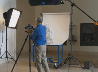 Les métiers de l'image à l'agence photo de la RMN-Grand Palais