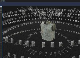 Modélisation en 3D de la cuirasse dite de Grenoble : un défi esthétique et scientifique