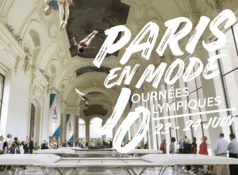 Nos images illuminent la façade du Grand Palais