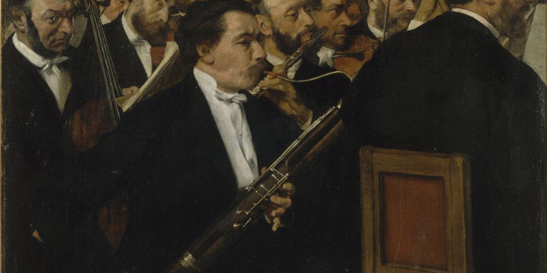 L'orchestre de l'Opéra, Edgar Degas, Paris, musée d'Orsay