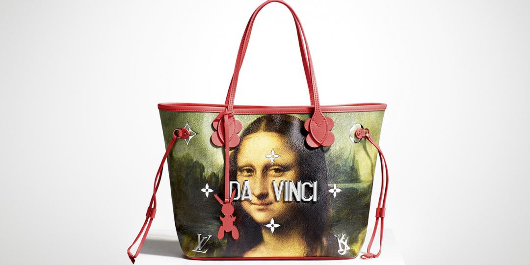 Le sac Neverfull de la Collection « Masters » par Jeff Koons pour la maison Vuitton