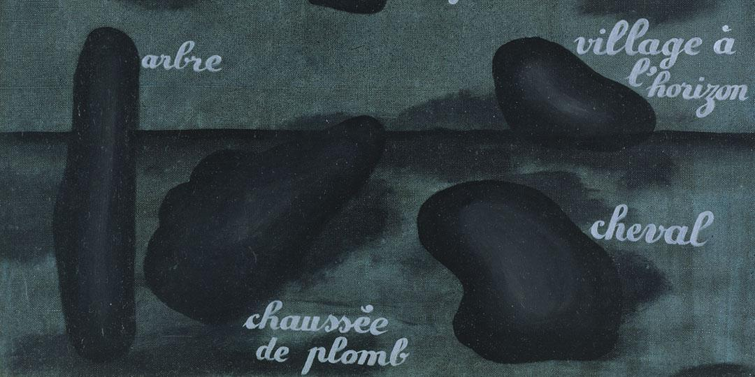 L'Espoir rapide, René Magritte, Allemagne, Hambourg, Kunsthalle