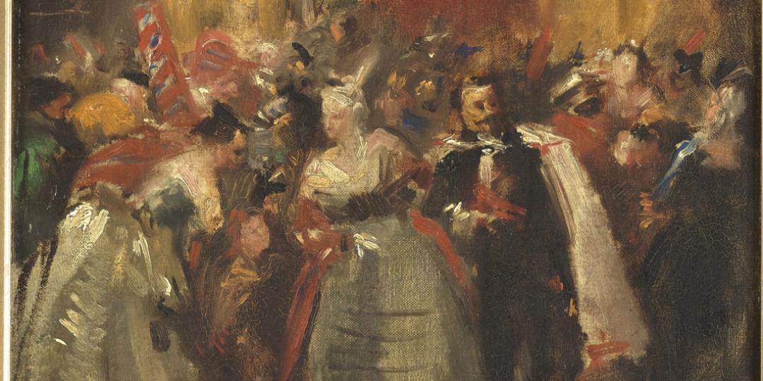 Bal costumé au palais des Tuileries - (l'empereur Napoléon III et la comtesse de Castiglione), Jean-Baptiste Carpeaux, Musée d'Orsay