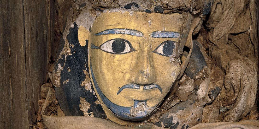 Cercueil et momie d'Ankhef,Royaume-Uni, Londres, British Museum