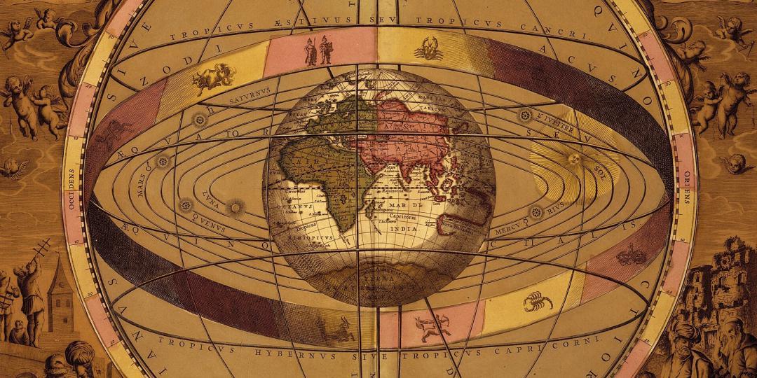 Scenographia Systematis Mundani Ptolemaici, Allemagne, Berlin, Staatsbibliothek zu Berlin - Kartenabteilung