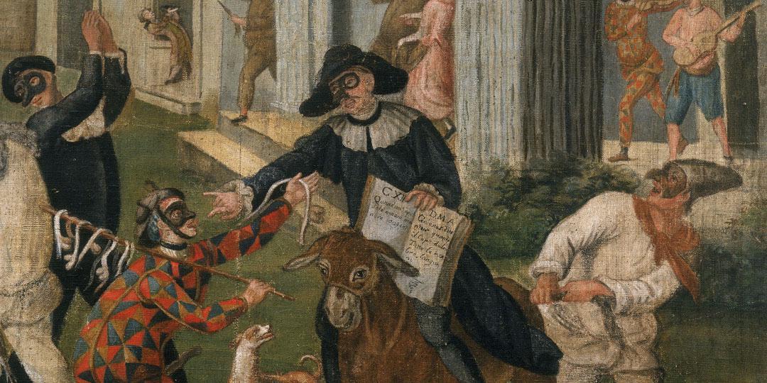 Scene from the Commedia dell'arte