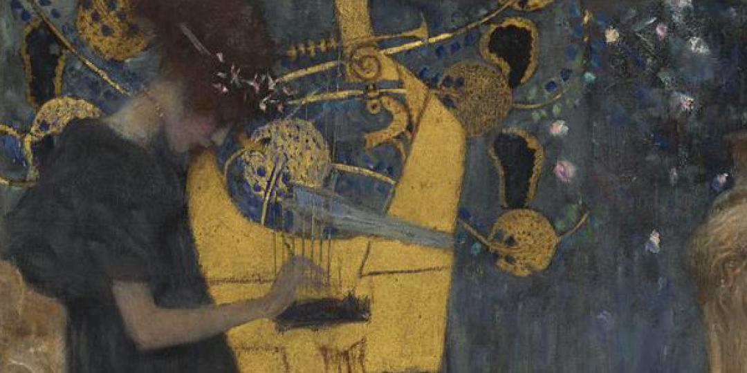 Musique, Gustav Klimt, Munich, Bayerische Staatsgemäldesammlungen, Neue Pinakothek