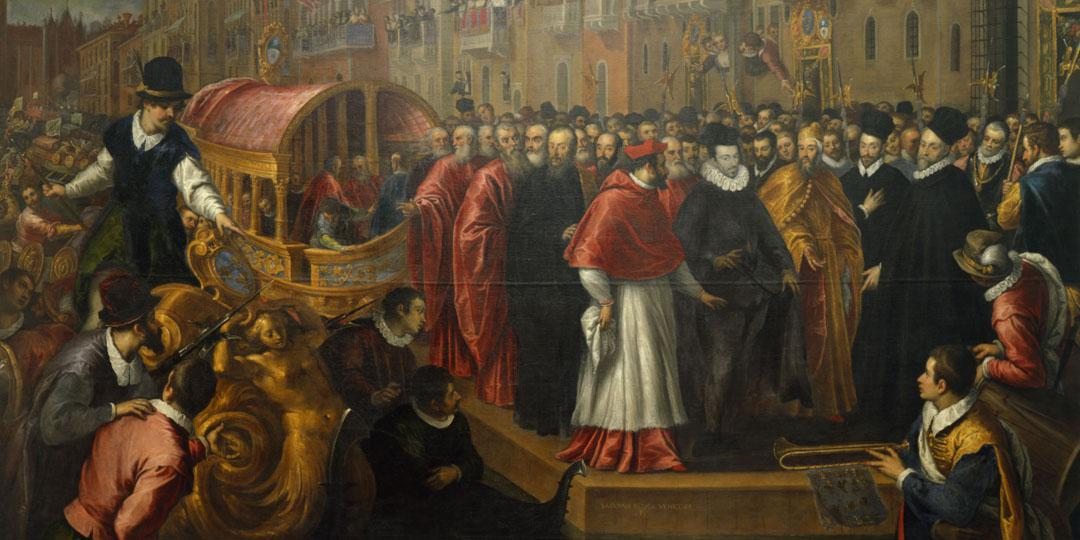 The Visit of Henry III to Venice - Giovane Palma