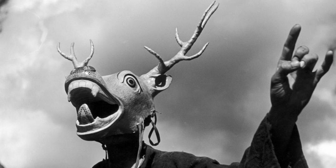 Danse avec un masque de cerf, Fosco Maraini,Florence Fratelli Alinari