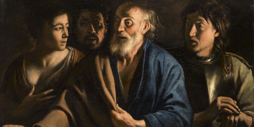 Le Reniement de Saint Pierre, Antoine Le Nain. Musée du Louvre