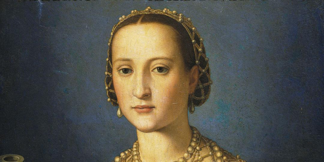 Portrait d'Éléonore Álvarez de Tolède - Atelier de Bronzino