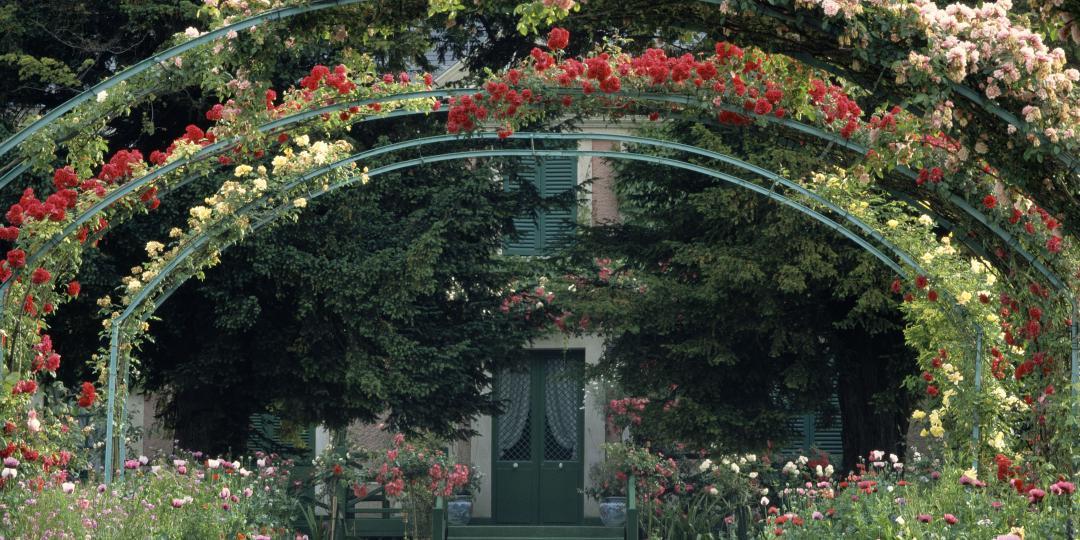 Le jardin de Claude Monet à Giverny de Jean-Baptiste Leroux