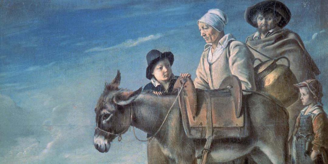 La famille de la crémière, Louis Le Nain. Saint-Petersbourg, musée de l'Hermitage