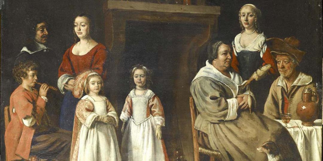 Portraits dans un intérieur, Antoine Le Nain. Musée du Louvre