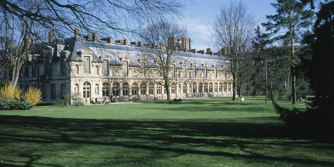 Parc du château de Fontainebleau, jardin de Diane, de Jean-Baptiste Leroux