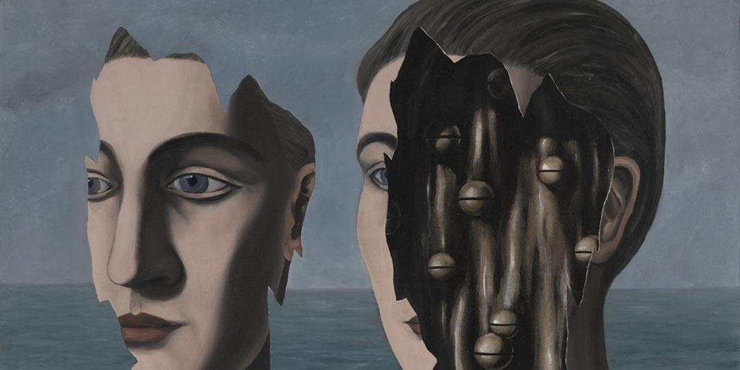 Le double secret, René Magritte, Centre Pompidou - Musée national d'art moderne - Centre de création industrielle