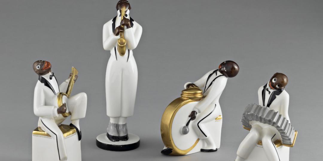 The jazz band Limoges, Musée National Adrien Dubouché