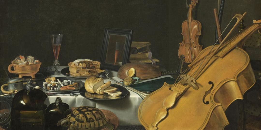 Nature morte aux instruments de musique, Pieter Claesz, Paris, musée du Louvre