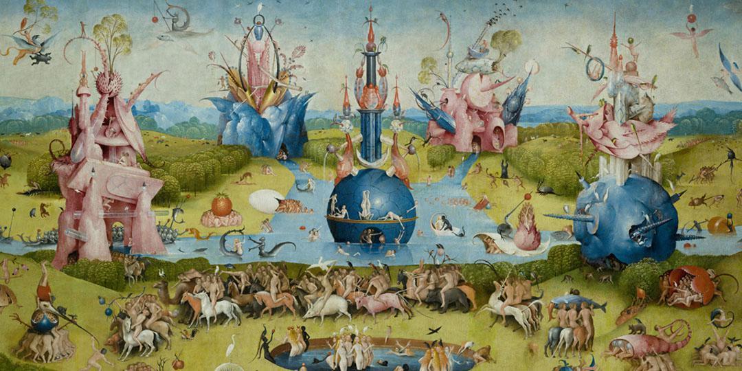 Le Jardin des délices Jérôme Bosch (détail)