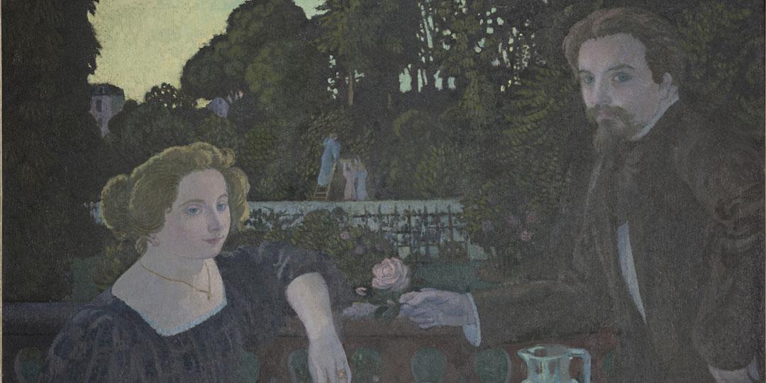 Le Dessert au jardin, Maurice Denis, Saint-Germain-en-Laye, musée départemental Maurice Denis