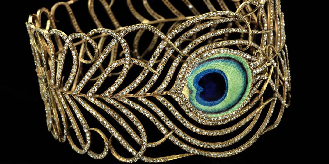 Collier en forme de plume de paon, Mellerio dits Meller, Smithsonian American Art Museum (SAAM)