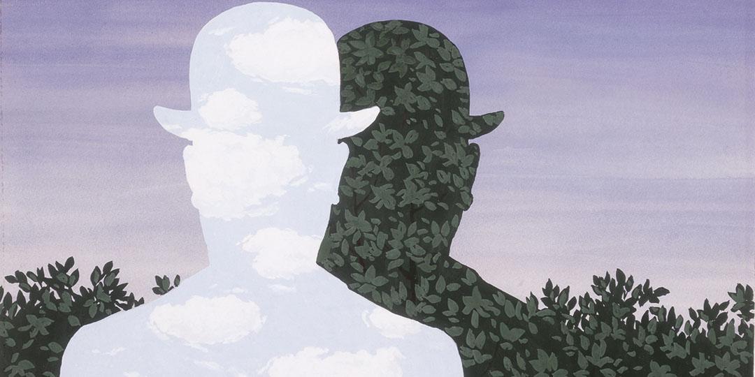 Deux hommes aux chapeaux melons, René Magritte, Etats-Unis, San Antonio (TX), McNay Museum