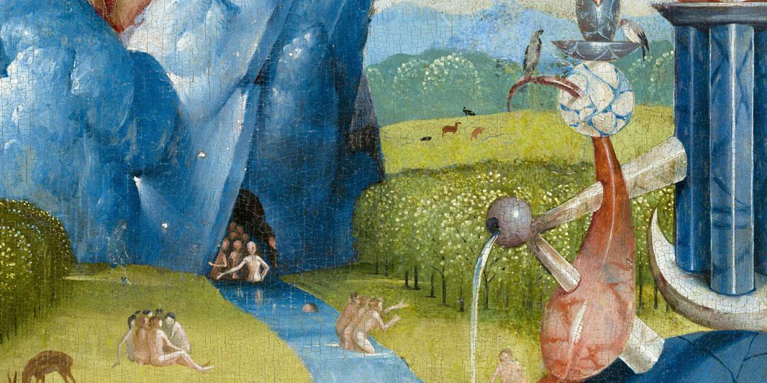 Le Jardin des délices Jérôme Bosch, détail