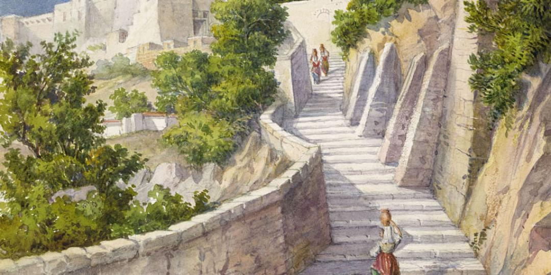 Paysages pitorresques, Hercule Catenacci, Paris, bibliothèque de l'Institut