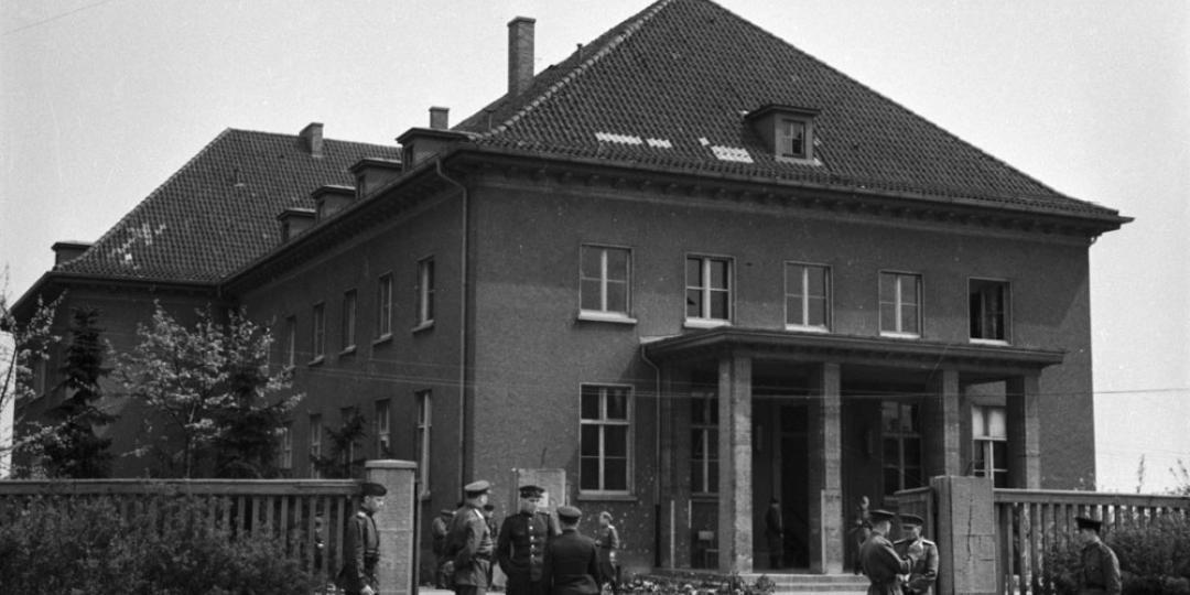 L'ancien mess des officiers de l'école des pionniers de la Wehrmacht, Timofeï Melnik, Allemagne, Berlin, Museum-Karlshorst