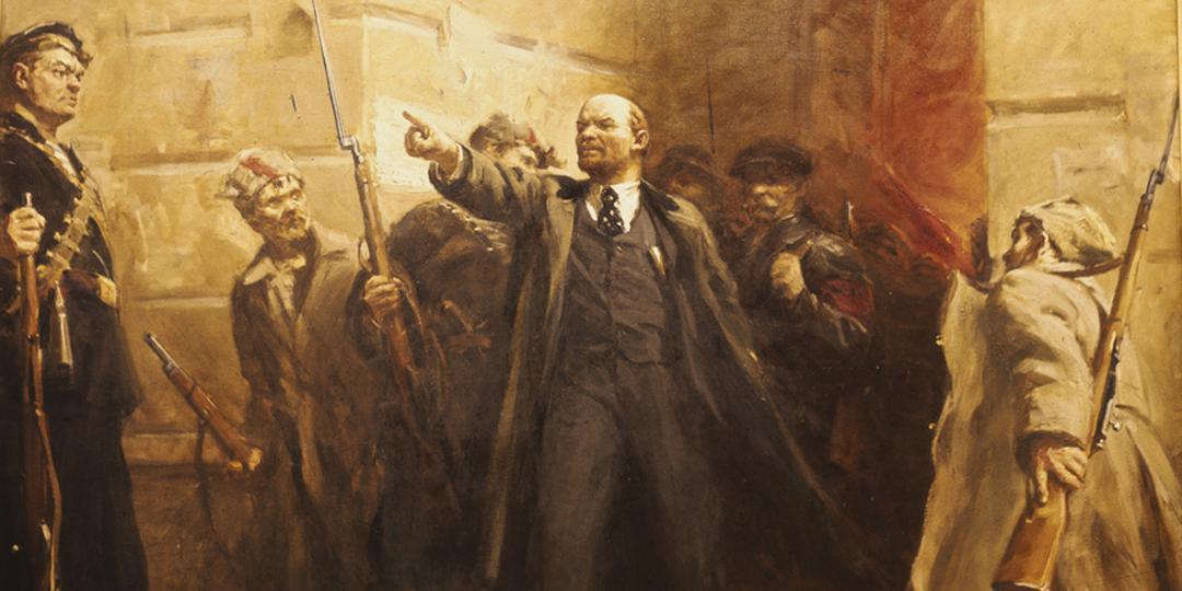 Lénine devant l'Institut Smolny, Victor Tsyplakov , Allemagne, Berlin, BPK