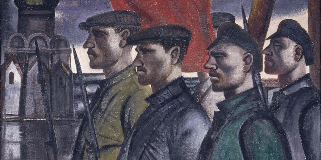 Les Gardes rouges, Kurt Robbelo, Berlin, Nationalgalerie, Staatliche Museen zu Berlin