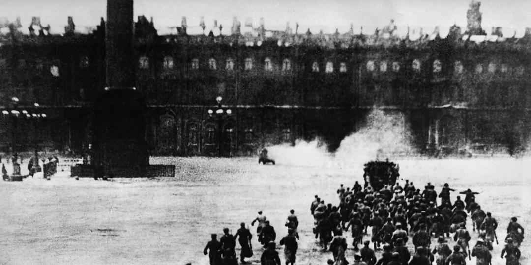 L'Assaut final du Palais d'hiver à Pétrograd, Ivan Kobozev, Berlin, BPK