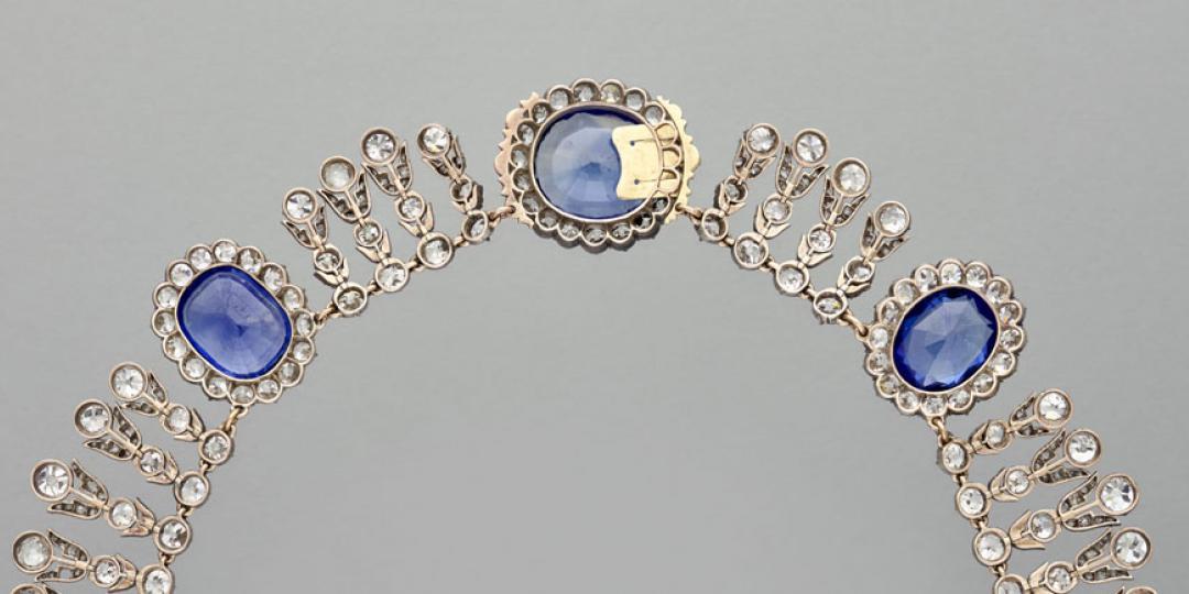 Parure de la reine Marie-Amélie, musée du Louvre, Collection des Diamants de la Couronne