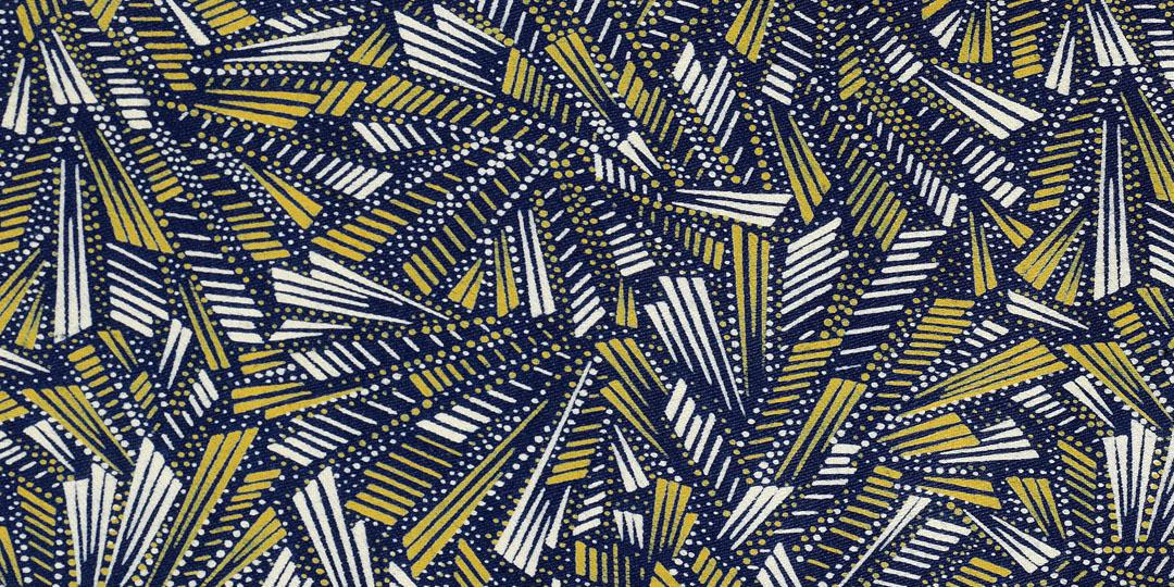 Motif abstraction. Mulhouse, musée de l'Impression sur Etoffes