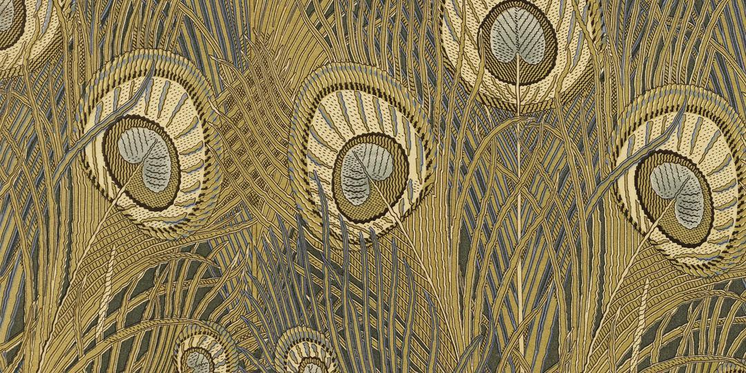 Motif Art Nouveau. Mulhouse, musée de l'Impression sur Etoffes