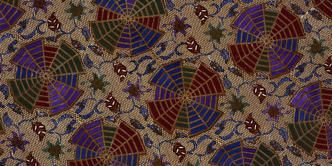 Motif Batik. Mulhouse, musée de l'Impression sur Etoffes