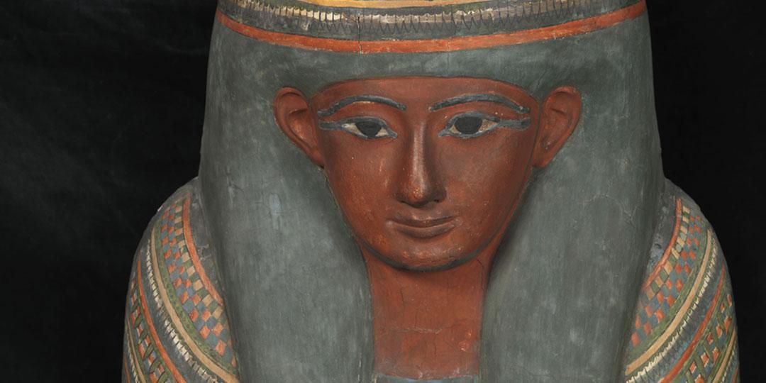 Sarcophagus lid of Imeneminet, Paris, Musée du Louvre