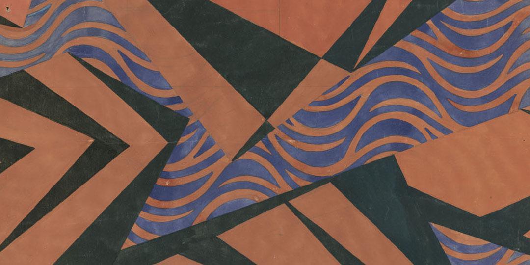 Model for wallpaper, Beauvais, MUDO, Musée de l'Oise