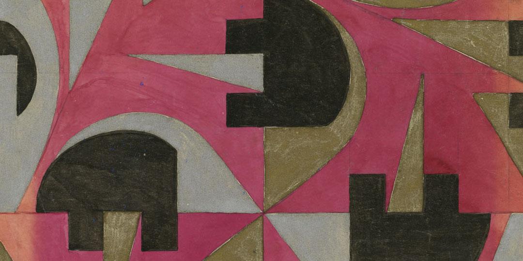 Modèle pour papier peint, Beauvais, MUDO, musée de l'Oise