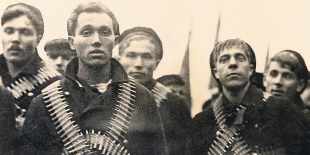 Marins bolchéviks armés, Londres, Tate Collection