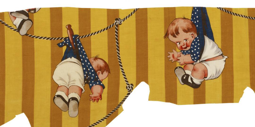 Motif pour enfant, Mulhouse, musée de l'Impression sur Etoffes