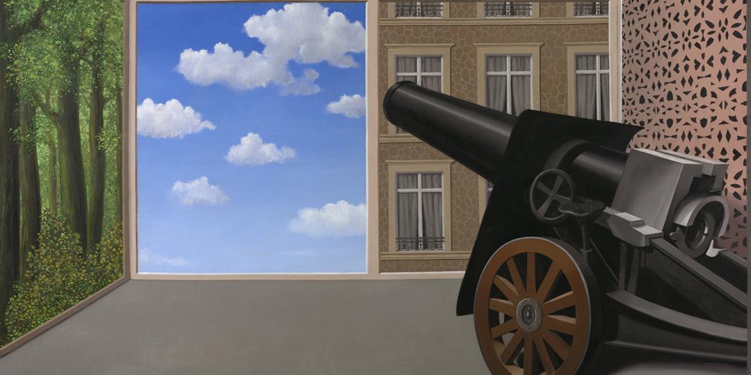 Au seuil de la liberté, René Magritte, Etats-Unis, Chicago, The Art Institute of Chicago