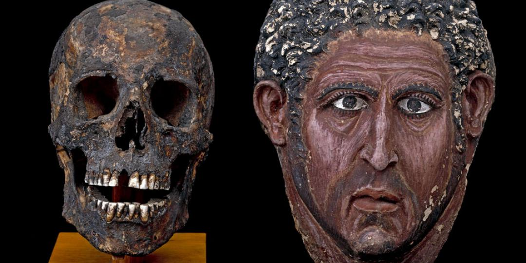 Masque de Momie, Royaume-Uni, Londres, British Museum